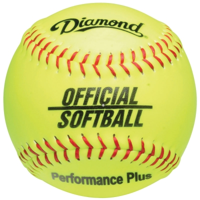 "Diamond 12YOS Official Softball 12"" (6 Dozen)"
