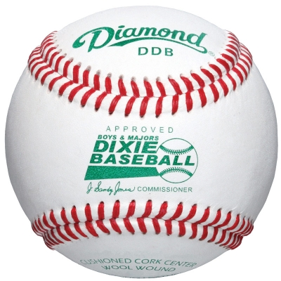 Diamond DDB Dixie Boys & Majors Baseball 10 Dozen