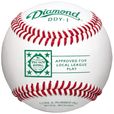 Diamond DDY-1 Dixie Youth Baseball 10 Dozen