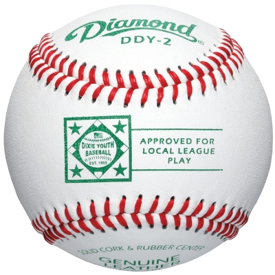 Diamond DDY-2 Dixie Youth Baseball 10 Dozen