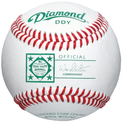 Diamond DDY Dixie Youth Baseball 10 Dozen