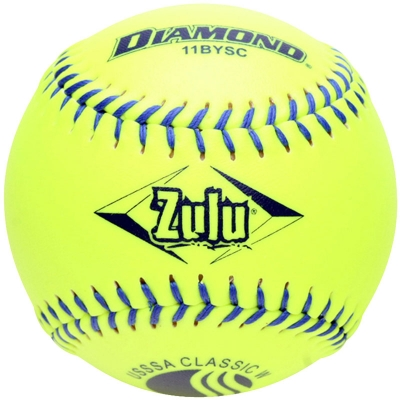 "Diamond Zulu Slowpitch Softball 11"" 11BYSC CLASSIC (6 Dozen)"