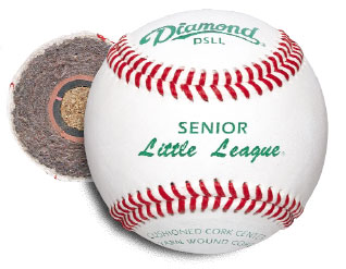 Diamond DSLL Senior Little League Baseball 10 Dozen