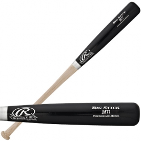 CLOSEOUT Rawlings Joe Mauer Pro Ash Wood Baseball Bat JM77AP