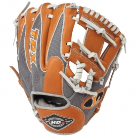 "CLOSEOUT Louisville Slugger HD9 Hybrid Defense Baseball Glove 11.25"" XH1125GO"