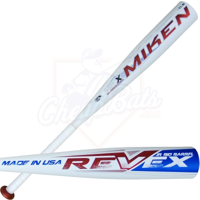 2013 Miken REV-EX Jr. Big Barrel Youth Baseball Bat -11.5oz JREV11
