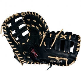 "Miken Super Soft Fastpitch Softball Glove First Base Mitt 12.5"" MSBFT"