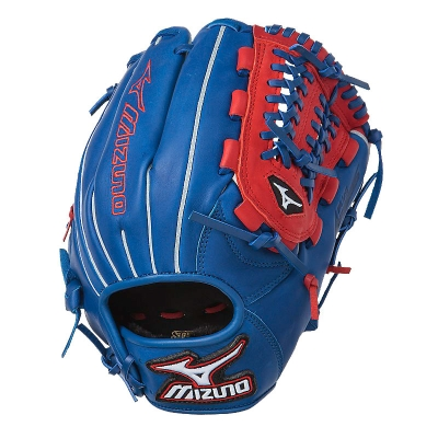 "CLOSEOUT Mizuno MVP Prime SE Series Baseball Glove 11.5"" Royal/Red GMVP1154PSE 311776-RYRD"
