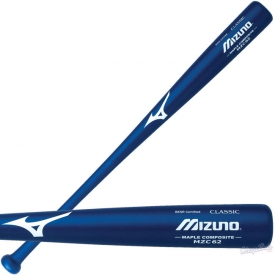 CLOSEOUT Mizuno Wood Composite Baseball Bat Matte Royal Blue MZC62