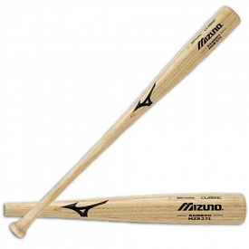CLOSEOUT Mizuno Bamboo Baseball Bat Custom Classic Natural MZB271