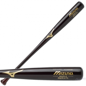 CLOSEOUT Mizuno Maple Baseball Bat Custom Classic Mahogany MZM271