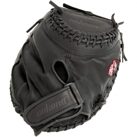 Nokona Buckaroo Black Fastpitch Softball Catchers Mitt AMG275-K-CW (BF-3250C-BLK-BS-3250C-BLK) 32.5""