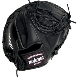 Nokona Bloodline Black Catchers Mitt AMG3200-BL-CW (BL-3200C-BLK) 32""