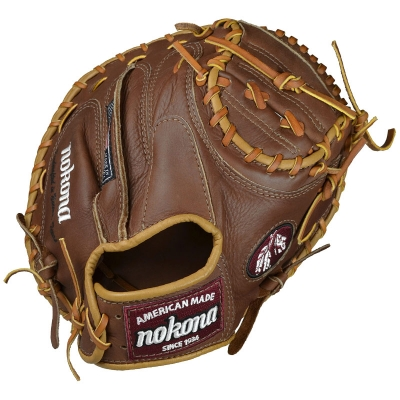 Nokona WB-3200 Classic Walnut Catchers Mitt 32""