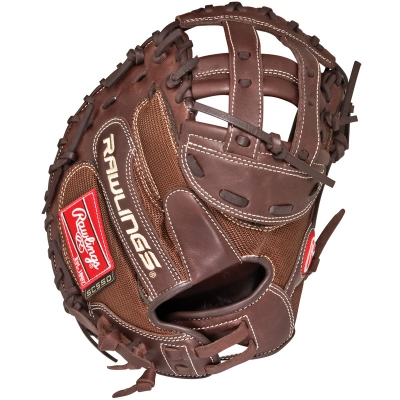 "Rawlings REVO 550 Solid Core Fastpitch Catchers Mitt 34"" 5SCCMM"