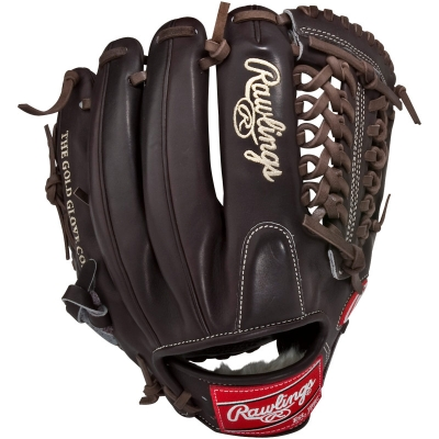 "Rawlings Mocha Pro Preferred Series Baseball Glove 11.75"" PROS1175-4MO"