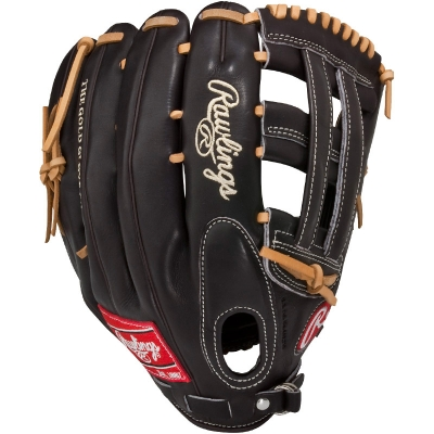 "CLOSEOUT Rawlings Mocha Pro Preferred Series Baseball Glove 12.75"" PROS27HFMO"