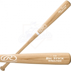 Rawlings Bone Rubbed Big Stick Wood Baseball Bat 243BO