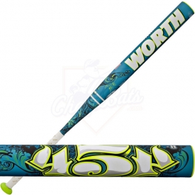Worth 454 Legit Fastpitch Softball Bat -8oz. FP4L8