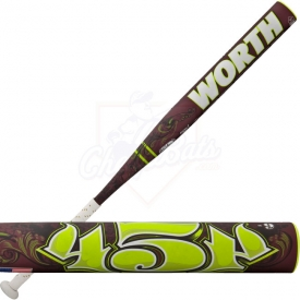 CLOSEOUT Worth 454 Legit Fastpitch Softball Bat -9oz. FP4L9
