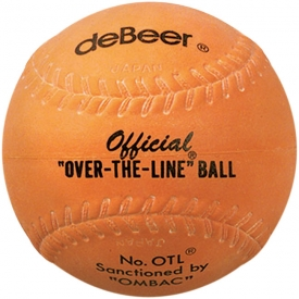 "deBeer ""Over The Line\"" Official Softball 12\"" 6-Pack OTL"