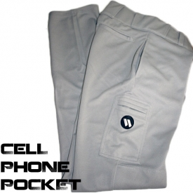 Worth Softball Pants With Cell Phone Pocket Adult MSPP