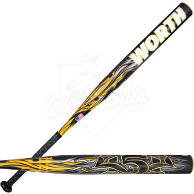 2013 Worth 454 Balanced USSSA Slowpitch Softball Bat SB4BU