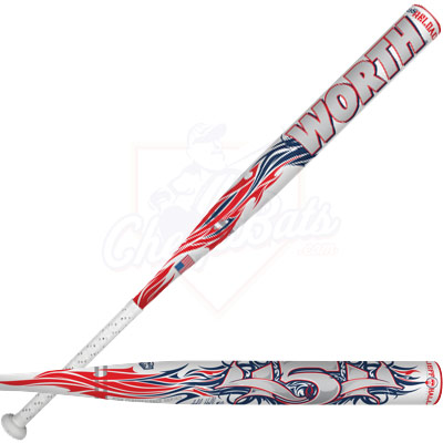 2013 Worth Jeff Hall 454 ASA Slowpitch Softball Bat SB4JHA