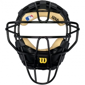 Wilson Dyna-Lite Catcher\'s Face Mask Leather Pad WTA3007