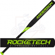 2020 Anderson RockeTech Slowpitch Softball Bat End Loaded ASA USSSA 011047