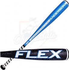 "CLOSEOUT Anderson Flex Youth Big Barrel Baseball Bat 2 3/4"" -10oz 013020"