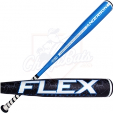 CLOSEOUT Anderson Flex BBCOR Baseball Bat -3oz 014015