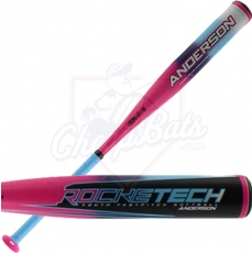 CLOSEOUT 2018 Anderson RockeTech Youth Fastpitch Softball Bat -12oz 017036