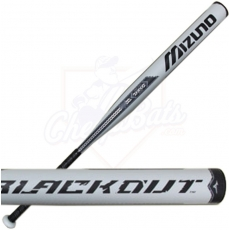 2015 Mizuno Blackout Slowpitch Softball Bat USSSA Balanced 340291