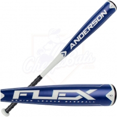 "2015 Anderson Flex Senior League Baseball Bat -10oz 2-5/8"" 013017"