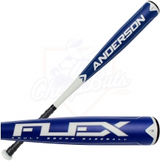 CLOSEOUT Anderson Flex BBCOR Baseball Bat -3oz 014014