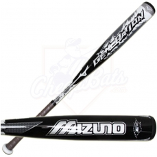 CLOSEOUT 2015 Mizuno Generation BBCOR Baseball Bat -3oz 340252