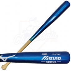 CLOSEOUT Mizuno Classic Bamboo BBCOR Baseball Bat MZB243 340161 (Royal/Natural)