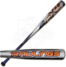2015 Rawlings RX4 Junior Big Barrel Baseball Bat -11oz YBRX11
