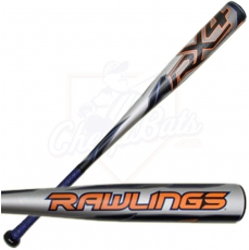 2015 Rawlings RX4 Youth Baseball Bat -13oz YBRX4A