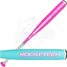 CLOSEOUT Anderson RockeTech Fastpitch Softball Bat -12oz 017032