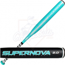 CLOSEOUT Anderson Supernova 2.0 Fastpitch Softball Bat -10oz 017031