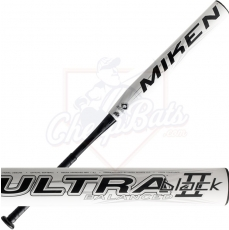 2016 Miken Ultra II Black Senior Slowpitch Softball Bat SSUSA Balanced U2BLKB