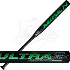 2016 Miken Ultra II Black Senior Slowpitch Softball Bat SSUSA Maxload U2BLKM
