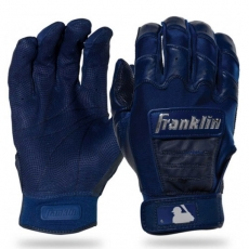 Franklin Adult Small MLB Batting Gloves Red Color CHROME CFX PRO NEW