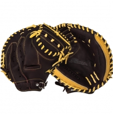 "CLOSEOUT Mizuno Franchise Baseball Catcher's Mitt 33.5"" GXC90B2 312446"
