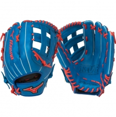 "CLOSEOUT Mizuno MVP Prime SE Slowpitch Softball Glove 13"" Royal/Red GMVP1300PSES5 312478"