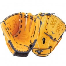 "CLOSEOUT Mizuno MVP Prime SE Fastpitch Softball Glove 12"" Cork/Navy GMVP1200PSEF6 312518"