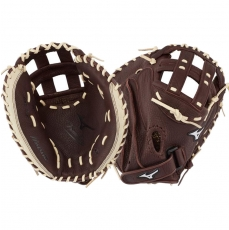 Mizuno Franchise Fastpitch Softball Catcher's Mitt 34