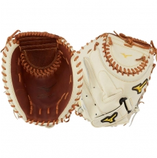 "Mizuno Classic Fastpitch Softball Catcher's Mitt 34.5"" GXS30F3 312776"